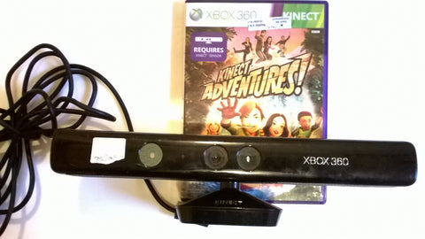 Kinect Sensor with Kinect Adventures Game for Xbox 360 Slim and E Models