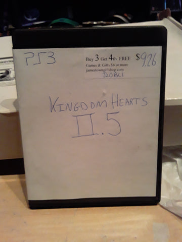 Kingdom Hearts II.5 Used PS3 Video Game