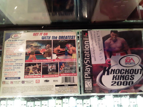 Knockout Kings 2000 Used Playstation 1 Game