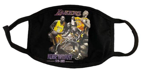 Kobe Bryant Images Los Angeles Lakers NBA Face Mask
