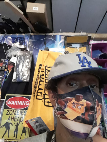 Kobe Bryant Los Angeles Lakers NBA Face Mask