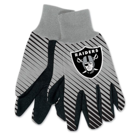 Las Vegas Raiders NFL Full Color Sublimated Gloves