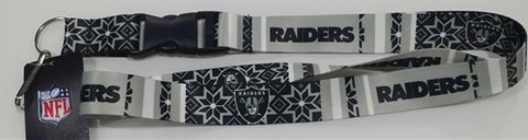 Las Vegas Raiders NFL Ugly Sweater Lanyard