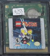 Lego Alpha Team Used Gameboy Color Video Game Cartridge