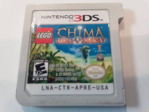 Lego Chima Lavals Journey Nintendo 3DS Video Game