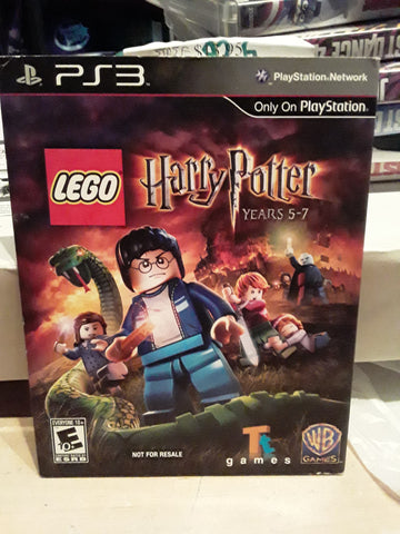 Lego Harry Potter Years 5 7 Used Ps3 Video Game Jamestown Gift Shop