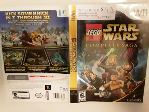 Lego Star Wars The Complete Saga Used Nintendo Wii Video Game