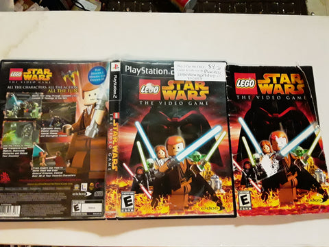 Lego Star Wars The Video Game USED PS2 Video Game