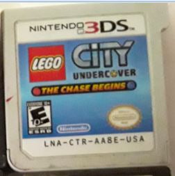 Lego City Undercover The Chase Begins Used Nintendo 3DS Video Game