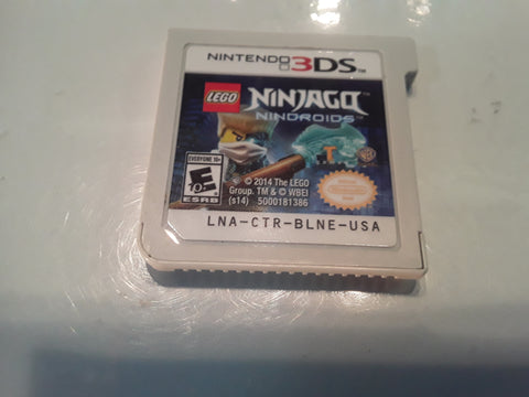 Lego Ninjago Nindroids Used Nintendo 3DS Video Game Cartridge
