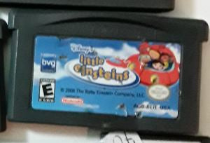 Little Einsteins Disney Used Gameboy Advance Game Cartridge