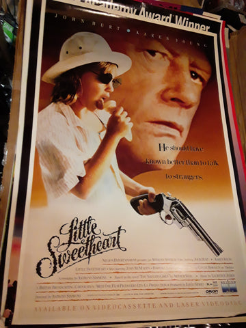Little Sweatheart John Hurt Karen Young 1993 Movie Poster 27x40 USED