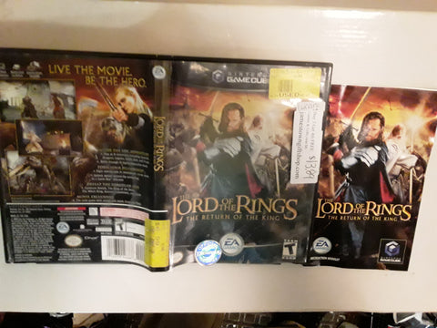 Lord of the Rings Return of the King Used Nintendo Gamecube Video Game