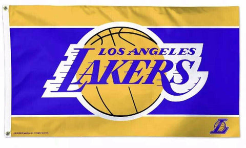 Los Angeles Lakers 3x5 NBA Flag