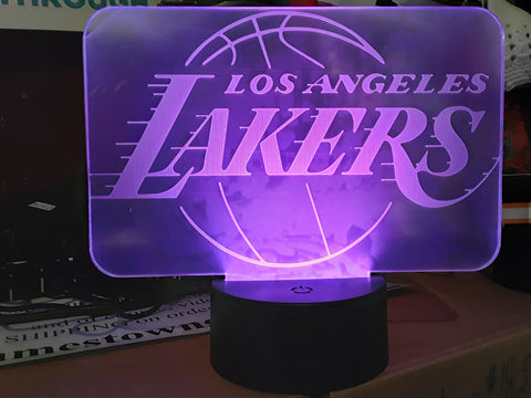 Los Angeles Lakers NBA Color-Changing LED Night Light