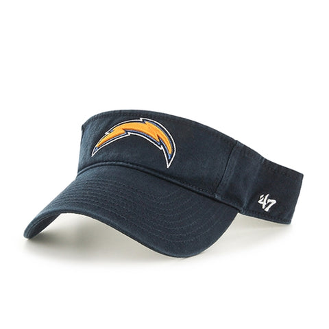 Los Angeles Chargers NFL Navy Clean Up Adjustable Visor