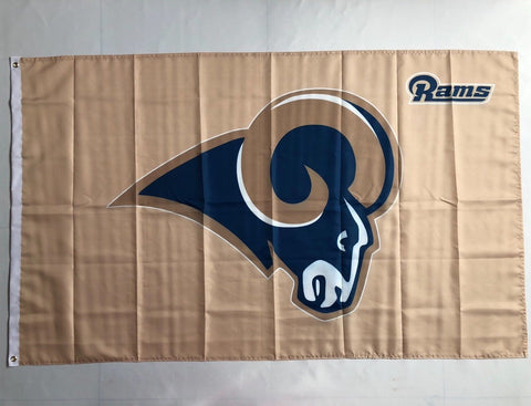 e3a3f0cc Los Angeles Rams 3x5 Foot NFL American Flag