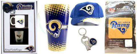 Los Angeles / St. Louis Rams NFL Fan Bundle of 7 Items ONLINE ONLY