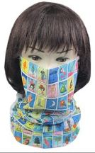 Loteria Face Mask Multi Scarf Tube