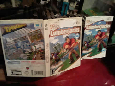 Lumberjacks Used Nintendo Wii Video Game