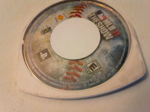 MLB 11 The Show Baseball PSP Used Video Game