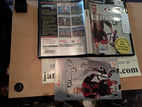 MLS Extratime Soccer USED PS2 Video Game