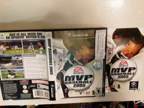 MVP MLB Baseball 2005 Used Nintendo Gamecube Video Game