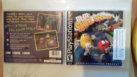 M&Ms Shell Shocked Used Playstation 1 Game