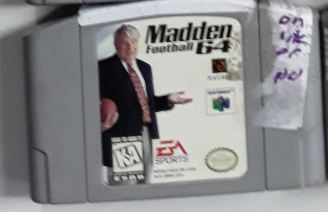 Madden 64 NFL Football Used N64 Video Game