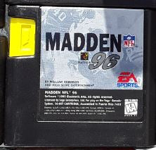 Madden NFL Football 96 Used Sega Genesis Video Game