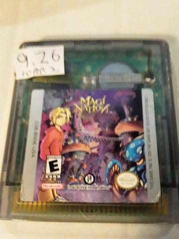 Magi Nation Used Nintendo Gameboy Color Game