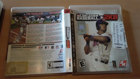 Major League 2K8 Baseball 2008 Used PS3 Video Game