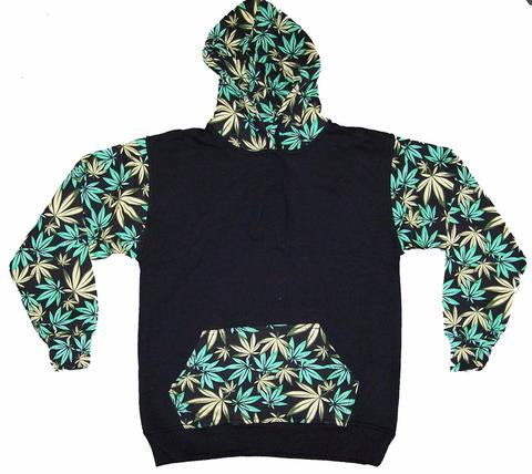 Marijuana Pot Leaves Hoodie