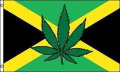 Marijuana Jamaica 3x5 Feet Flag