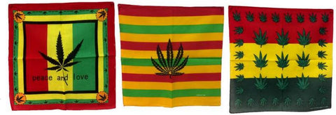 Marijuana Pot Lef Designs Bandana