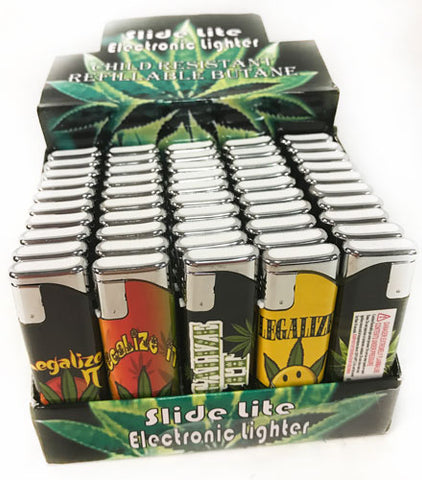 Marijuana Refillable Butane Lighters