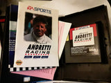 Mario Andretti Racing Used Sega Genesis Video Game