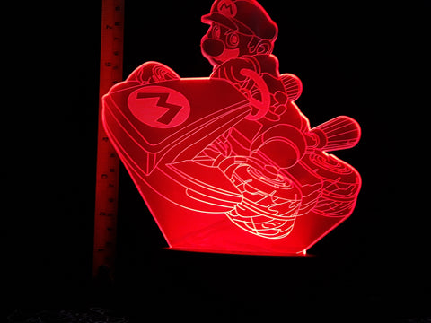 Mario Kart 8 LED Night Light Lamp