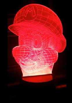 Mario Color Changing LED Light