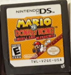 Mario vs. Donkey Kong Mini Land Mayhem Used Nintendo DS Video Game Cartridge