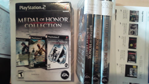 Medal of Honor Collection USED PS2 Video Game