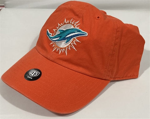 Miami Dolphins NFL Orange Challenger OTS Adjustable Buckle Cap Hat