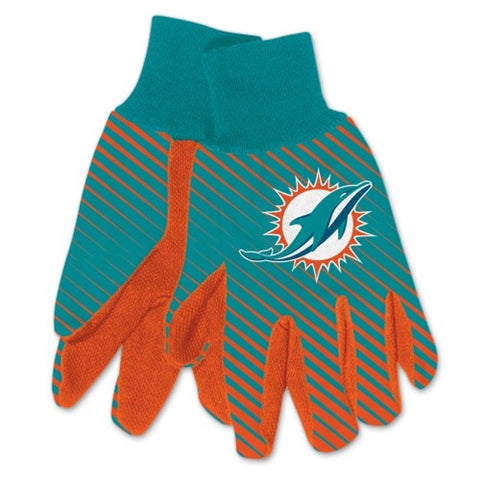 Miami Dolphins NFL Full Color Sublimated Gloves