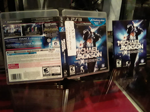 Michael Jackson The Experience Playstation Move Used PS3 Video Game