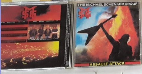 Michael Shenker Group Assault Attack Music CD Used