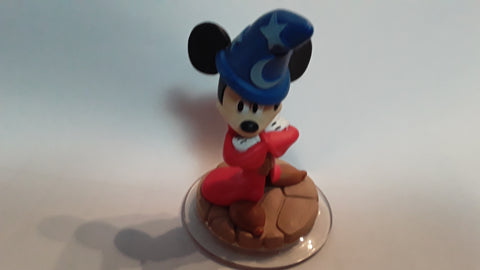 Mickey Mouse Sorcerer's Apprentice Disney Infinity 1.0 Character Xbox 360 PS3 Wii USED