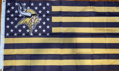 Minnesota Vikings NFL American 3x5 Feet Flag
