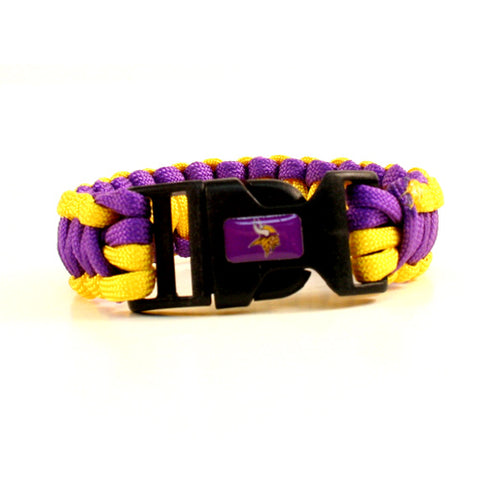 Minnesota Vikings Paracord Survival Bracelet