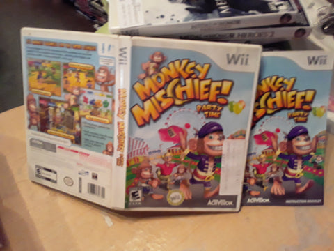 Monkey Mischief Party Time Used Nintendo Wii Video Game
