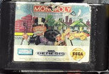 Monopoly Used Sega Genesis Video Game